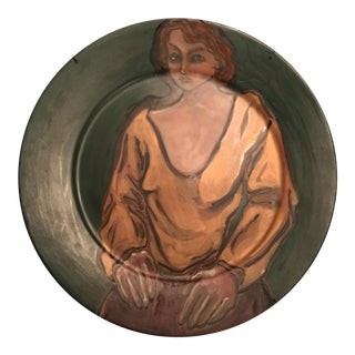 Original Painting on Platter