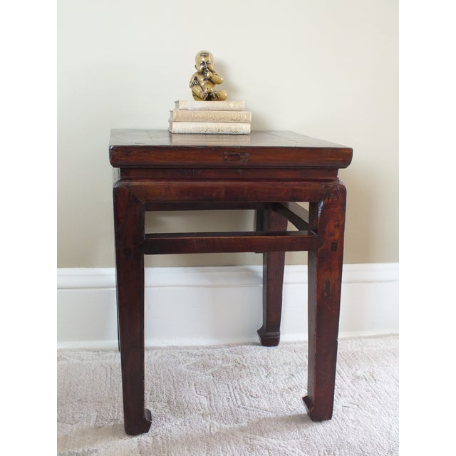 Chinese Ming Style Zitan Wood Table - Image 11 of 11