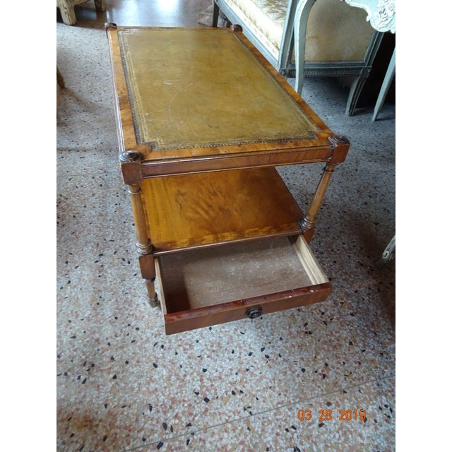 Vintage French Coffee Table For Sale - Image 4 of 11