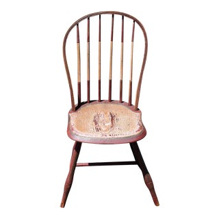 19th Century Original Painted Windsor Chair For Sale
