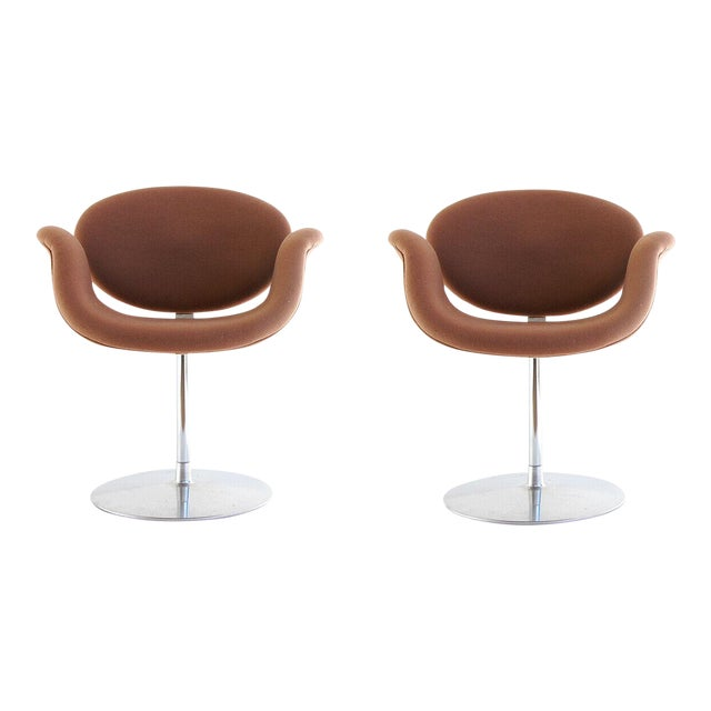 """1959, Pierre Paulin Mid Century Modern """"Tulip F545"""" Artifort Space Age Chairs- a Pair For Sale"""