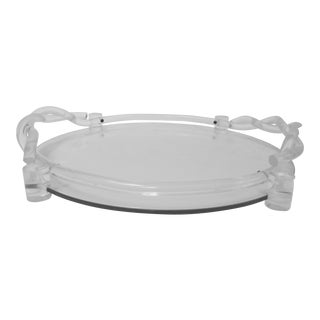 Dorothy Thorpe Lucite Cocktail Tray