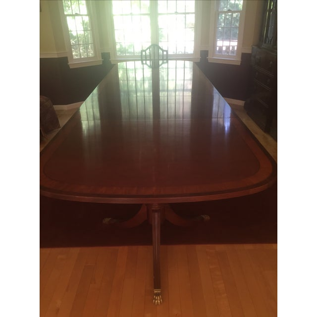 Ethan Allen 18th Century Mahogany Table - Image 2 of 3