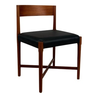 Vintage Danish Set of 6 Teak Dining Chairs For Sale