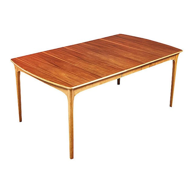 1960s 1960s Walnut Wood Dining Room Table For Sale - Image 5 of 6