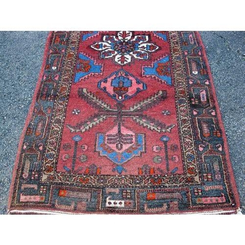 Persian Asad-Abad Hamedan Carpet - 4′ × 7′ - Image 3 of 6
