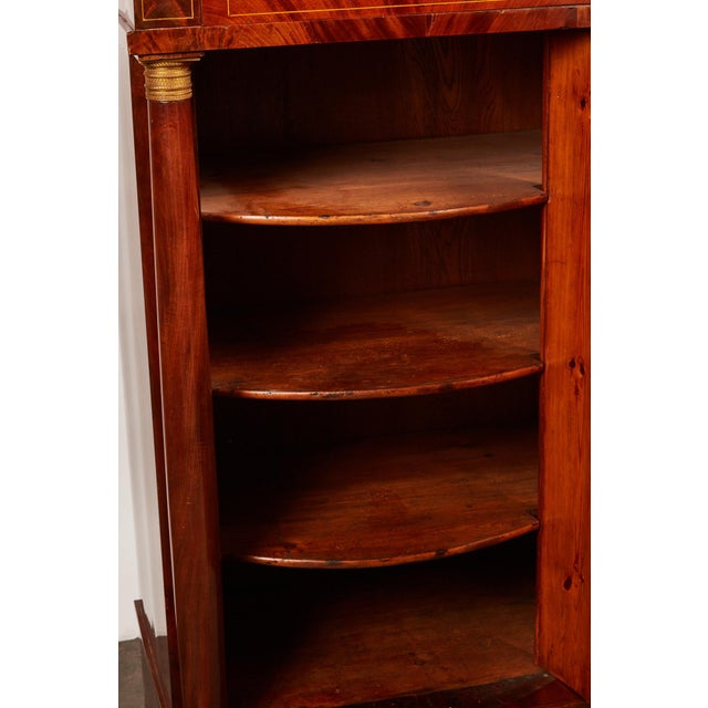 Wood 19th Century Danish Mahogany Empire Cabinet For Sale - Image 7 of 11