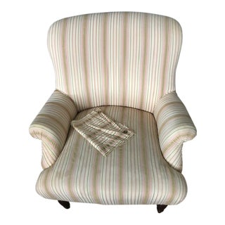 1960s Vintage Upholstered Chair For Sale