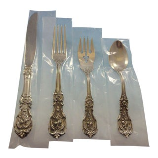 Francis I by Reed and Barton Sterling Silver Flatware Set for 12 Service 56 Pcs For Sale