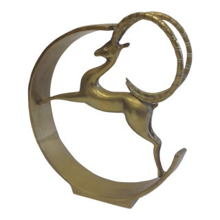 Large Brass Animal Decor
