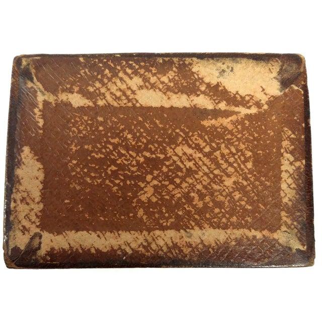 Mini Fleur-de-Lis Leather Box - Image 4 of 10