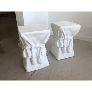 Pair of White Composition Tables -Style of John Dickinson Preview