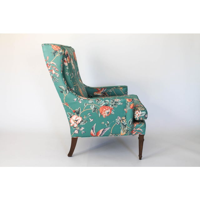 Mid 20th Century Mid-Century Chair and Ottoman For Sale - Image 5 of 10