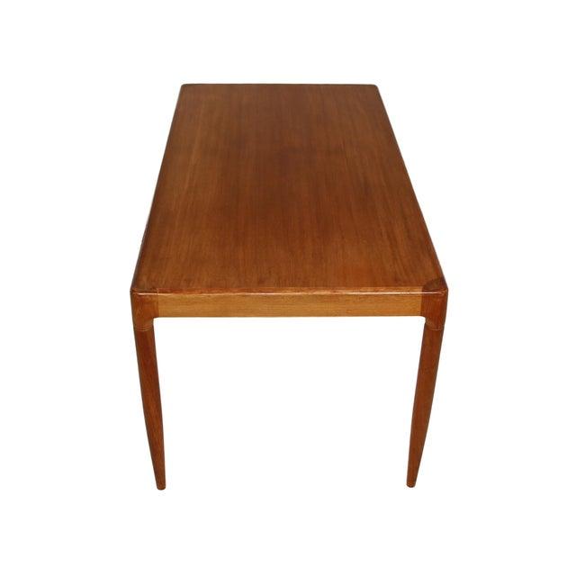 Mid Century Danish Teak Coffee Table For Sale - Image 4 of 7