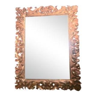 19th Century Italian Gilt-Wood Mirror For Sale