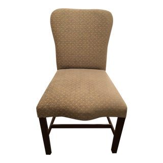 Rose Tarlow Chippendale Cream Upholstered Mahogany Dining Chairs - Set of 10 For Sale
