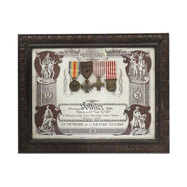 World War I Souvenir De La Grande Guerre 1914/1918 For Sale