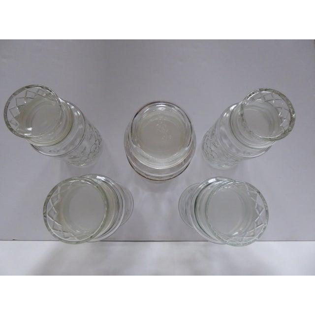 Vintage Glass Jars - Set of 5 - Image 6 of 7