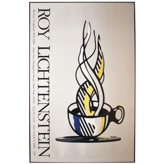 Roy Lichtenstein, Cup and Saucer Ii, 1989, Framed Poster For Sale