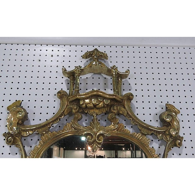 Florentine Style Marble Top Console With Mirror For Sale - Image 11 of 12