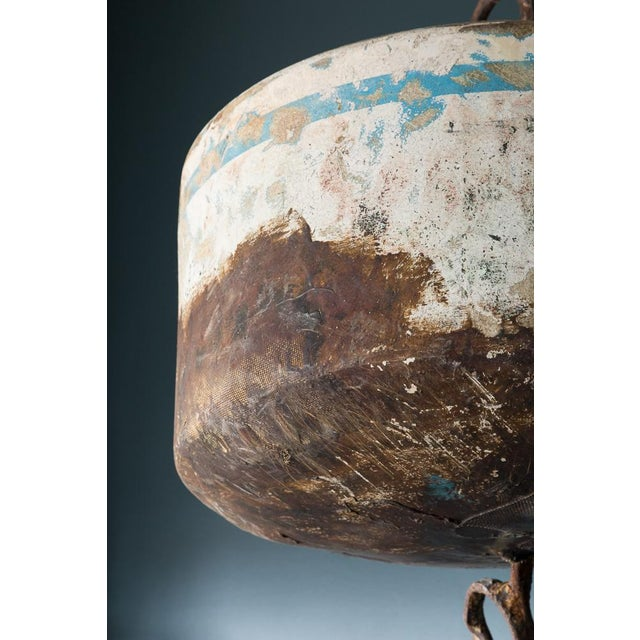 Nautical Vintage Mooring Buoy For Sale - Image 3 of 5