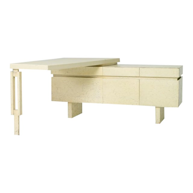 "1960s USA William ""Billy"" Haines Custom L-Shaped Desk For Sale"