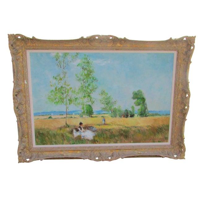 Eleanor Maurice Apres Monet Original Oil on Canvas For Sale