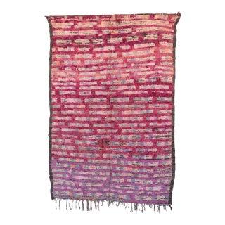 "Boujad Vintage Moroccan Rug, 5'10"" x 8'8"" feet / 177 x 263 cm"