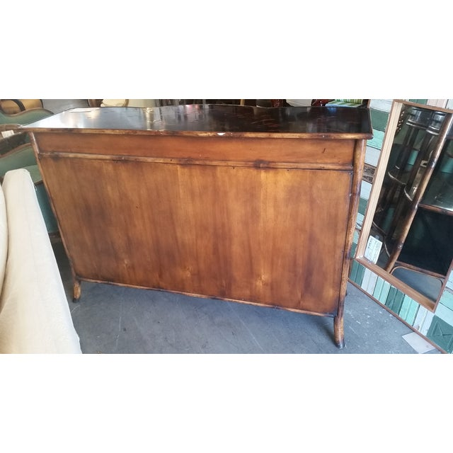 Theodore Alexander Indochine Bamboo Console - Image 6 of 8