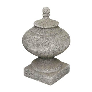 Salvaged Large Stone Finial For Sale