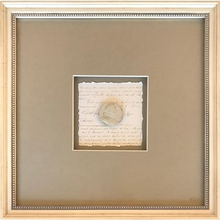 Colonial Collection I - Wall Decor Shadowbox For Sale