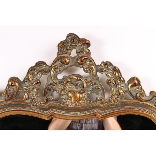 Rococo 1960s Rococo Revival Mirror For Sale - Image 3 of 5