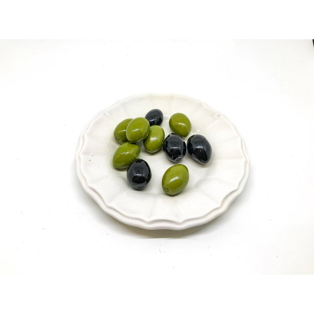 Olive Trompe l'Oeil Bowl For Sale In Little Rock - Image 6 of 6