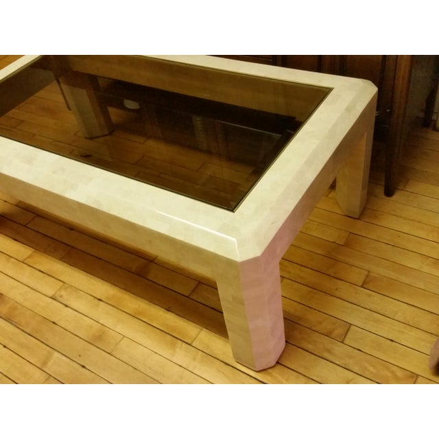 Maitland-Smith Tessellated Stone Coffee Table For Sale In New York - Image 6 of 10