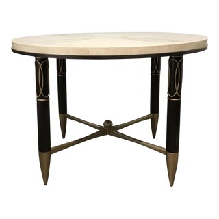 Stylish Caracole Modern Everly Center/Foyer Table For Sale