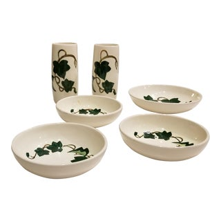 Metlox California Ivy Dinnerware - Set of 6