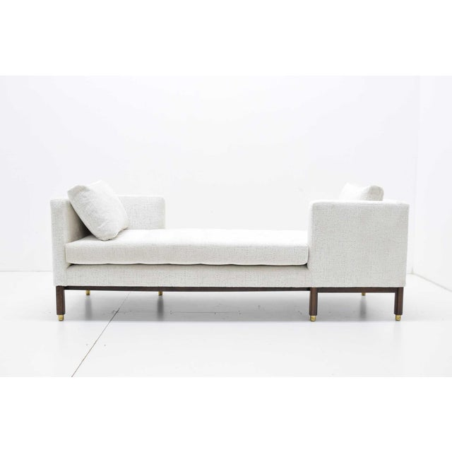 1950s Vintage Dunbar Tête-à-Tête Sofa by Edward Wormley For Sale In Dallas - Image 6 of 10