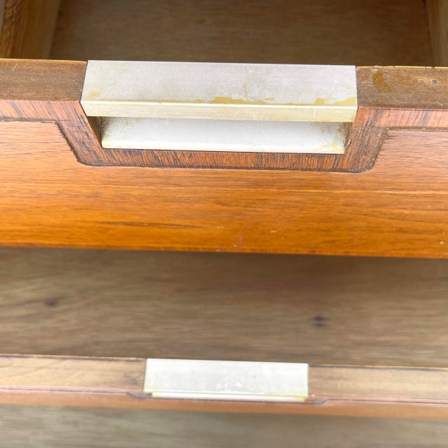 Mid-Century Highboy Dresser From Basic-Witz For Sale - Image 11 of 13