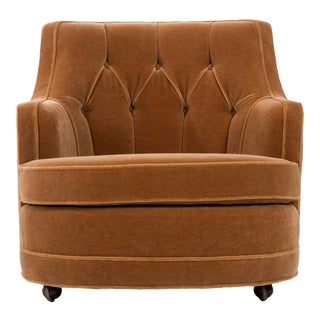 Edward Wormley Lounge Chair dor Dunbar For Sale