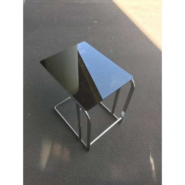 HD Buttercup Steel & Glass Side Table For Sale - Image 9 of 9