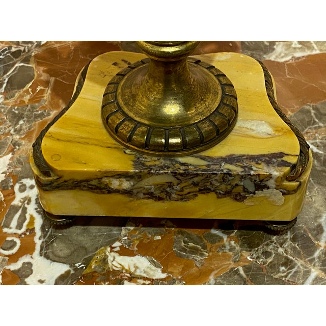 Antique Louis XVI Style Marble Vase For Sale In Dallas - Image 6 of 8
