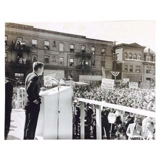 Charles Teenie Harris Original JFK Rally Photo For Sale