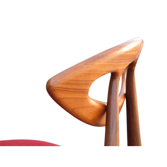 """8 Ejvind A. Johansson Dining """"Eye"""" Chairs For Sale - Image 10 of 11"""