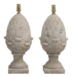 Image of Neoclassical Table Lamps