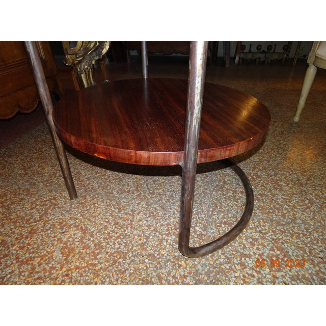 1920s Art Deco French Side Table For Sale - Image 5 of 13