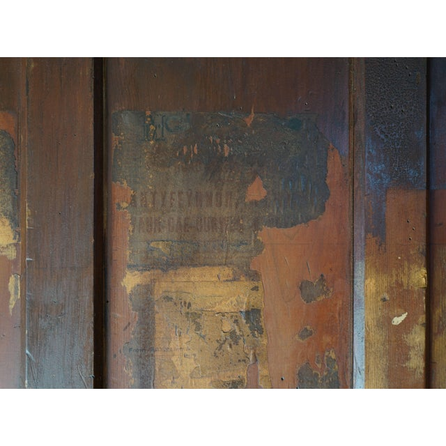 19th Century Welsh Train Station Cabinet For Sale - Image 4 of 10