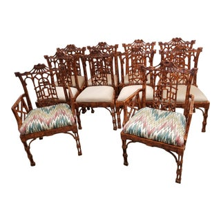 Late 20th Century Weiman/Warren Lloyd Chairs - Set of 10 For Sale