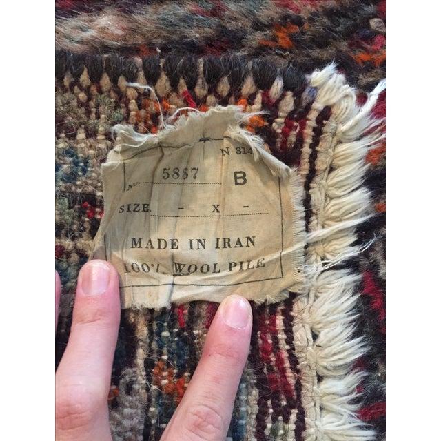 """Vintage Wool Rug - 35.5"""" X 22.5"""" - Image 5 of 6"""
