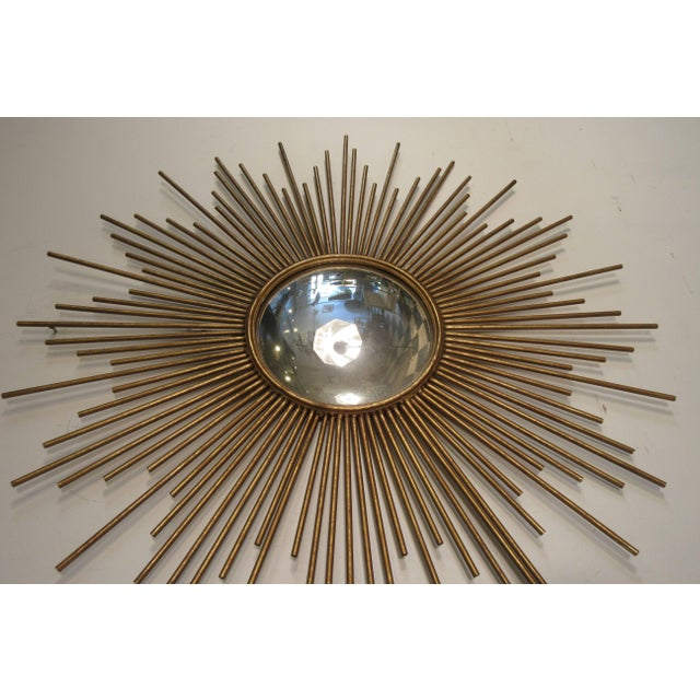 Early 21st Century Sunburst Convex Mirror For Sale - Image 5 of 10
