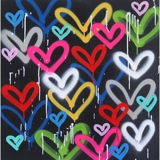 """""""Wild Hearts"""" Original Artwork by Amber Goldhammer For Sale"""